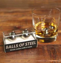 Enjoy perfectly chilled whiskey and support testicular cancer research.