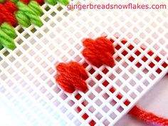 Plastic Canvas: Hungarian Stitch | Flickr - Photo Sharing!