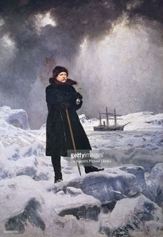 Adolf Erik Nordenskiold (Helsinki, 1832-Dalbyo, 1901), Finnish baron and explorer, 1886, painting by Georg von Rosen (1843-1923), oil on canvas, 344x242 cm.