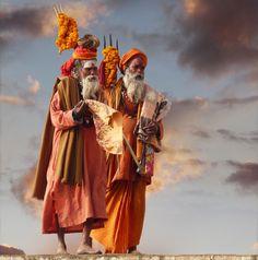 садху, Варанаси (Индия). Фото / Sadhu. Photo