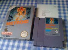 Metroid Juego para Nintendo NES PAL con Caja Versión Española