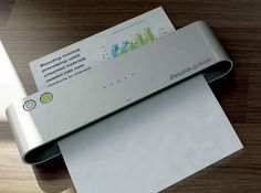 A printer that erases a printed paper, and reuses the same