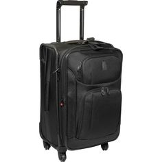 Delsey Luggage Helium Pilot 2.0 Lightweight 2 Wheel Rolling Tote ...
