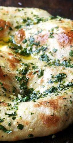 Naked Pizza with Basil & Garlic | Baking Steel