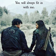 The 100 ... and then Octavia goes and screws up one of my favorite sibling relationships