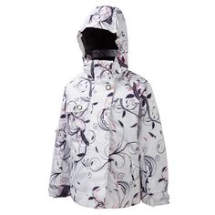 OKI KIDS JACKET WHITE SWIRL - Outdoor Clothing, Waterproof jackets and fleeces -TOG24 http://www.tog24.com/ski-sale/oki-kids-ski-jacket-white-swirl.html