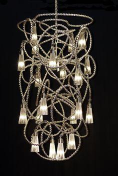 Sultans of Swing special chandelier - Salone del Mobile, Euroluce 2013