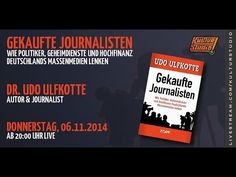 Kulturstudio Klartext No 102 - GEKAUFTE JOURNALISTEN - Dr. Udo Ulfkotte