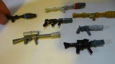 Einfache Lego Custom Guns - New Ideas Custom Guns, Custom Lego, Legos, Easy Lego Creations, Lego Robot, Lego Lego, Lego Dragon, Lego Guns, Micro Lego