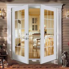 ReliaBilt french doors - back patio doors                                                                                                                                                      More