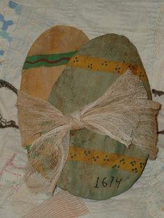 Grubby 1674 Prairie Flattie Eggs Door Hanger E Pattern Pillows OFG. $5.00, via Etsy.