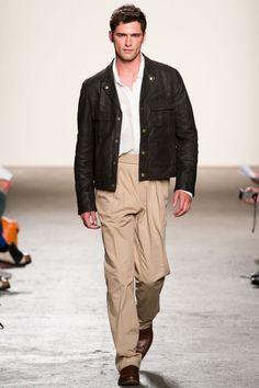 Pants w/ pleats (Billy Reid Spring 2013)