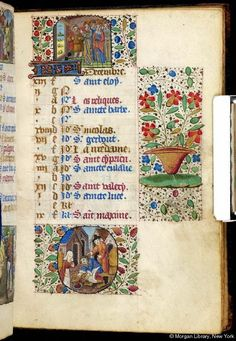 Book of hours, MS M.32 fol. 15r - Images from Medieval and Renaissance Manuscripts - The Morgan Library & Museum Prob. Rouen c. 1470