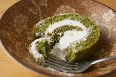 Matcha Roll Cake recipe.  Used to eat these in the International District in Seattle all of the time.