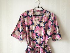 Pink & Blue Floral Dress   #summerdress #mididress #floral