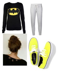 """Ugly nerd 1st day of school"" by xxforbooksxx ❤ liked on Polyvore featuring AR SRPLS and Keds"