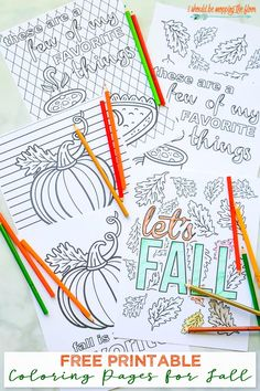 Free Printable Coloring Pages for Fall Kids Crafts free kids coloring crafts diy Fall Coloring Sheets, Pumpkin Coloring Pages, Fall Coloring Pages, Free Coloring, Coloring Pages For Kids, Kids Coloring, Adult Coloring, Free Thanksgiving Coloring Pages, Fairy Coloring