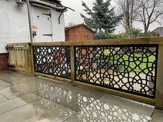 Garden Privacy Screen, Privacy Screens, Garden Screening, Fence Art, Decorative Panels, Screen Design, Garden Art, Garden Ideas, Trellis