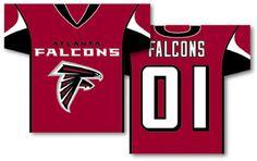 Atlanta Falcons Jersey Flag,Falcons Jersey Banners,