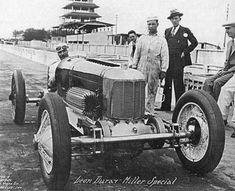 Early Miller Indy Car - Front Wheel Drive - Inboard Drum Brakes - Half Leaf Spring Suspension