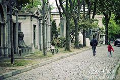 Pere Lachaise cemetery in Paris....