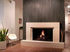 Idea for Contemporary Electric Fireplace