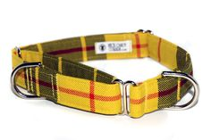 Authentic Tartan Dog Collars & Leashes Made to Order on Etsy.