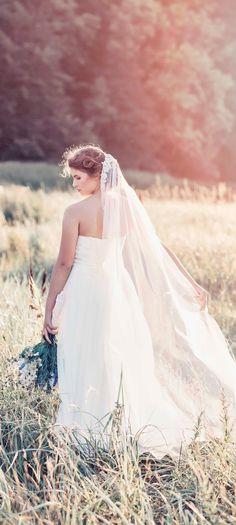 The Hazel Bridal Veil GD1071