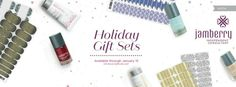 Jamberry Holiday Gift Sets  Available at amydavis7779.jamberry.com