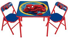 Marvel Spiderman Activity Table Set ** Continue to the product at the image link.