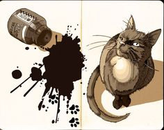 Pussy cat 2 by tuuliky.deviantart.com on @deviantART