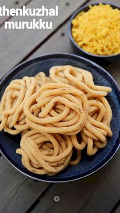 thenkuzhal recipe, how to make thenkuzhal murukku recipe with step by step photo/video. popular & easy south indian savoury snack with urad dal & rice flour Spicy Recipes, Curry Recipes, Cooking Recipes, Cake Recipes, Pakora Recipes, Chaat Recipe, Indian Dessert Recipes, Indian Snacks, Indian Recipes