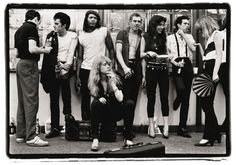 The Clash and friends, 1981. Photograph: Amy Arbus.