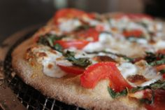 clean eating pizza margherita