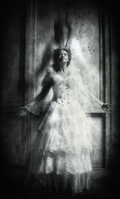 haunted...artist unknown, brilliant
