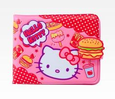 Hello Kitty Vinyl Wallet: Burger