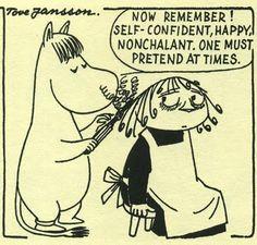 Tove Jansson. Ladies. Moomin Help.