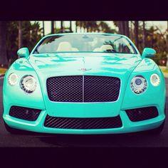 Cool Turquoise Bentley