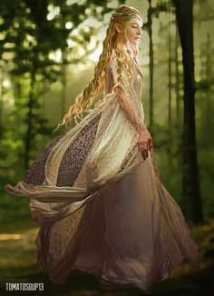Galadriel - Lord of the Rings - Cate Blanchett by tomatosoup13 on DeviantArt (Geek Stuff Rings)