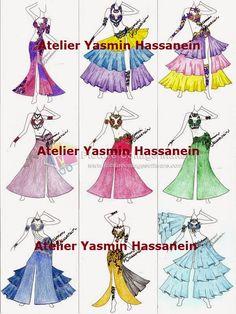 Atelier Yasmin Hassanein - Trajes para Dança do Ventre - Bellydance Costumes: Bellydance Costumes /Figurinos by Atelier Yasmin H...