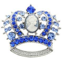 Sapphire Cameo Crown Pin Brooch Fantasyard,http://www.amazon.com/dp/B0040003I0/ref=cm_sw_r_pi_dp_eNU2sb00H3W7GS31