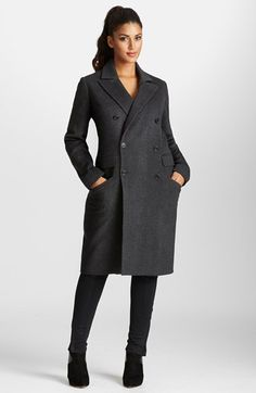 Mynt 1792 Double Breasted Plaid Coat (Plus Size) available at #Nordstrom
