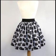 Selling this ❤️ Rockabilly Vintage Cameras Skirt! in my Poshmark closet! My username is: shopcbella. #shopmycloset #poshmark #fashion #shopping #style #forsale #vintage galleria #Dresses