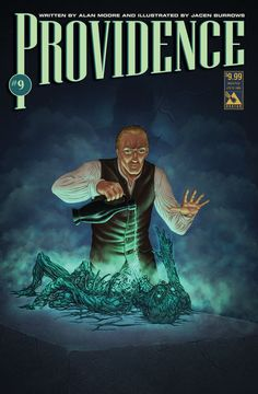 Providence issue 9 - limited edition weird pulp cover. Alan Moore, Jacen Burrows (Avatar Press)