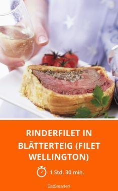 Rinderfilet in Blätterteig (Filet Wellington) - smarter - Zeit: 1 Std. 30 Min. | eatsmarter.de