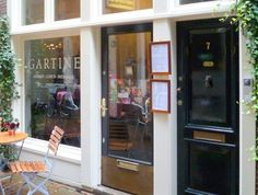 A tiny cafe on a side street in the center of Amsterdam, Gartine serves up slow…