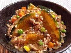 かぼちゃと豚ひき肉のそぼろあん煮|レシピブログ