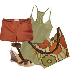 Summer Casual, created by hidemh on Polyvore