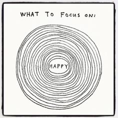 Focus to be HAPPY !!!