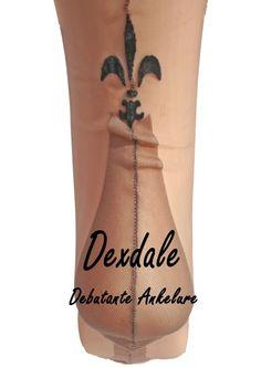 Dexdale FF US Nahtnylons mit Fersen Design